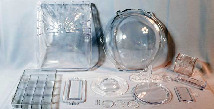 CLEAR MOLDED PARTS